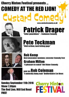 Custard Comedy Cherry Hinton Fest Sept'16 (1)