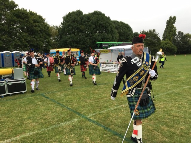 Peterborough Highland Pipe Band 2016