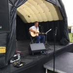Dave Irving on the Music Stage