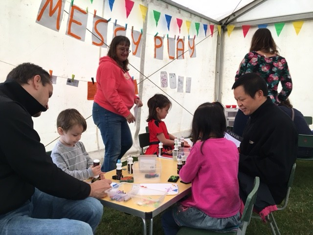 Messy Play with the Cherry Hinton Baptist Church