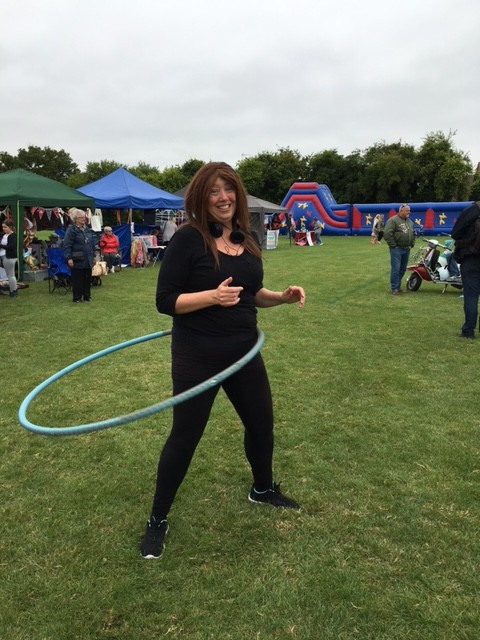 Hula Hoop lessons from Romsey Mill