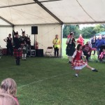Scottish Dancing with the Peterborough Highland Pipe Band