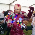 Iron Man learns about DNA with the Welcome Genome Campus
