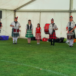 Peterborough Highland Pipeband with Scottish Dancers