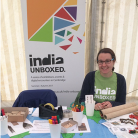 India Unboxed in the Children's Marquee