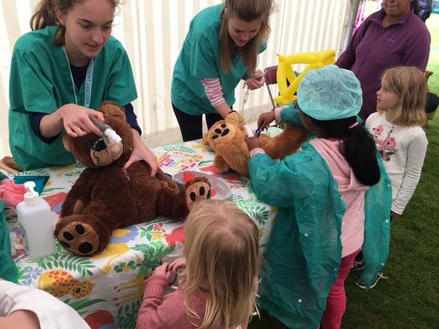 Addenbrookes - Teddy Bears Hospital