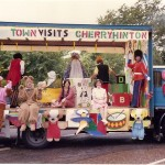 Winning float by Cherry Hinton Keep Fit 1989