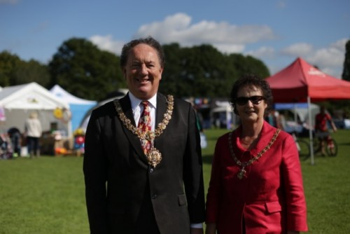 The 30th Cherry Hinton Festival Day opened by the Mayor of Cambridge