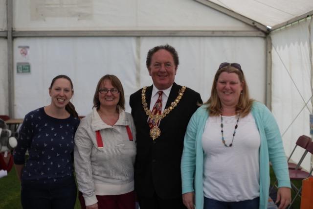 The Mayor of Cambridge with Little Cherries